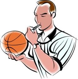 árbitro de basquetebol