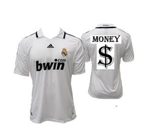 camisa do real madrid MONEY$